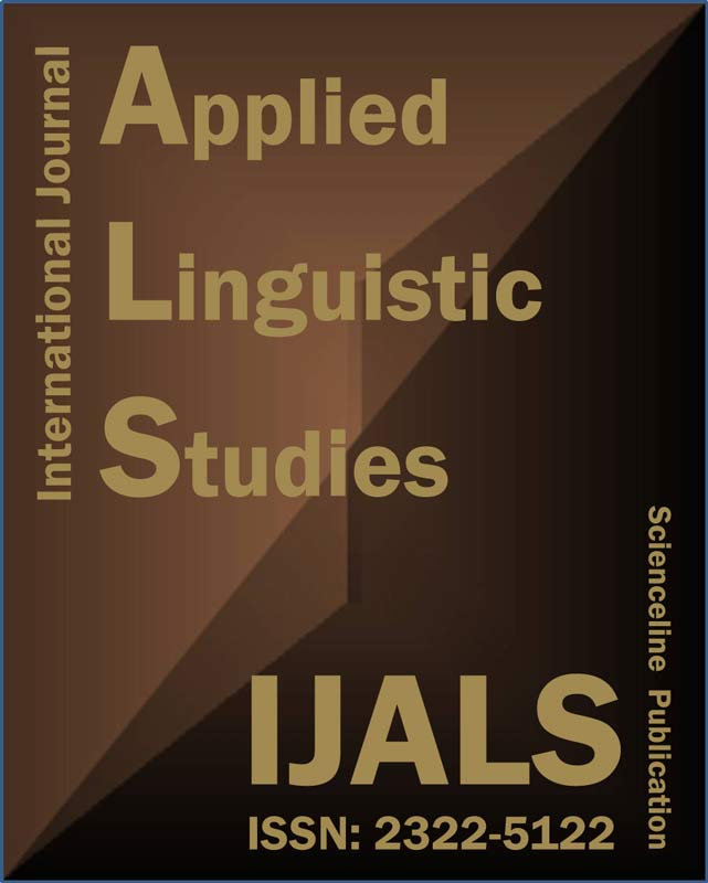 IJALS-International Journal of Applied Linguistic Studies